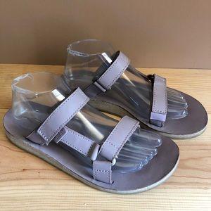 Tech Universal Leather Slides Sandals Light Purple